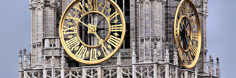 Antwerp Clock Tower