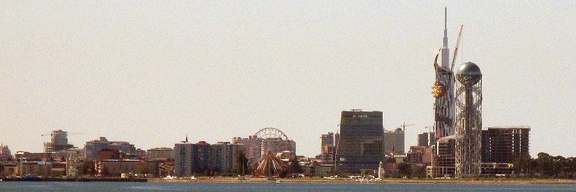 Batumi waterfront