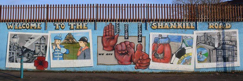Belfast Shankill Road Mural