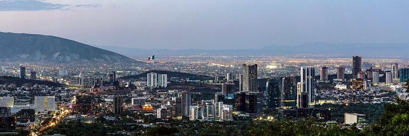 Monterrey Mexico Panorama