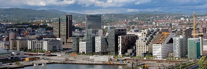 Oslo Oslofjord City view