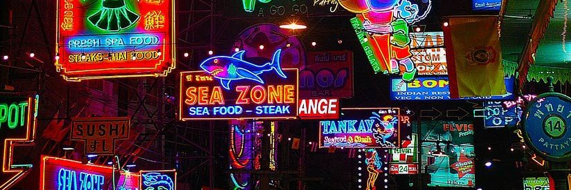 Pattaya Night Neon Lights