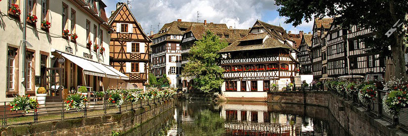 Water Channel, Strasbourg