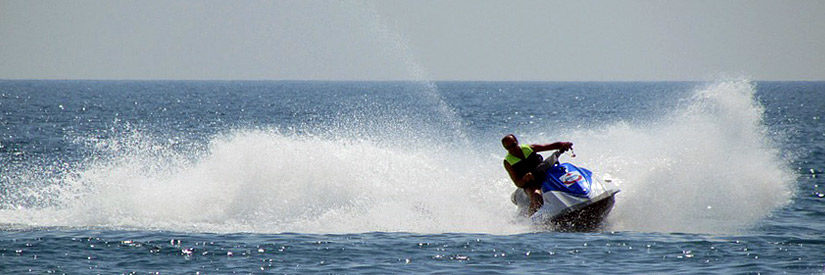 Varna beach jet ski