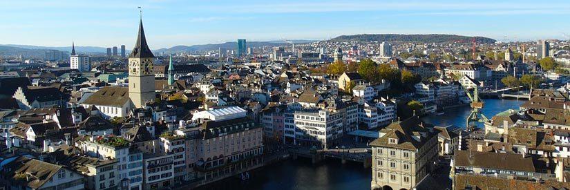 Zurich Aerial view