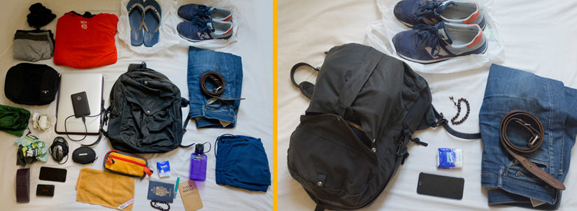 """The """"Minimum Viable Nomad"""" Loadout  A 20 Liter Packing List For Warmer  Climates. Could you travel indefinitely ... 62a1e4719f857"""