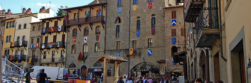 Arezzo, Italy City Life