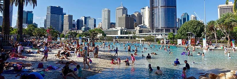 Brisbane South Bank Beach