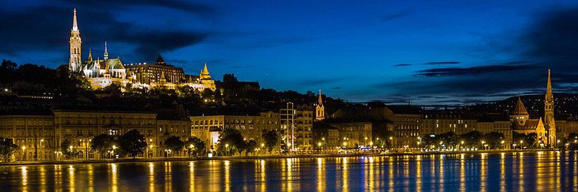 Budapest Danube Night