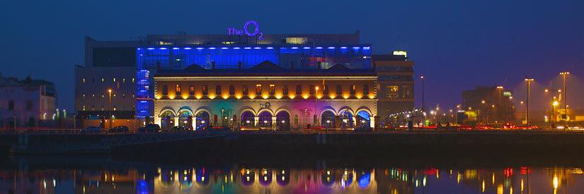 Dublin's O2 at Night