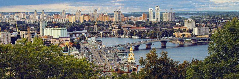 Kiev, Ukraine - Panorama