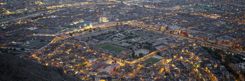 Lima cityscape