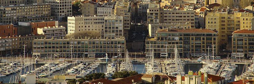 Marseilles waterfront