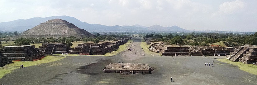 Mexico City Teotihuacan Ruins