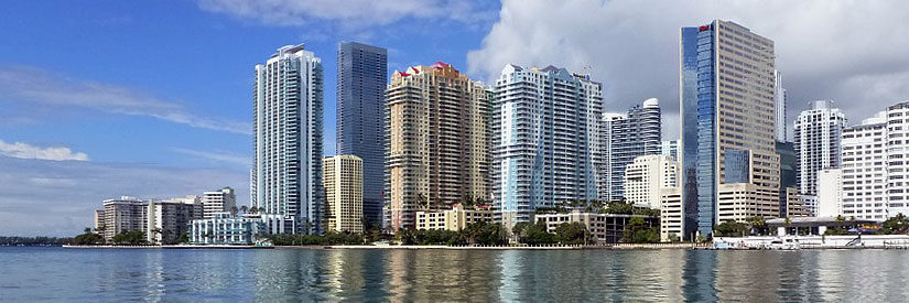 Miami Waterfront Buildings