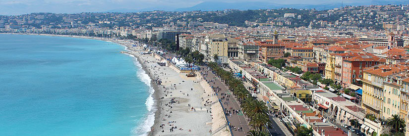 Nice, France - Beach Promenade