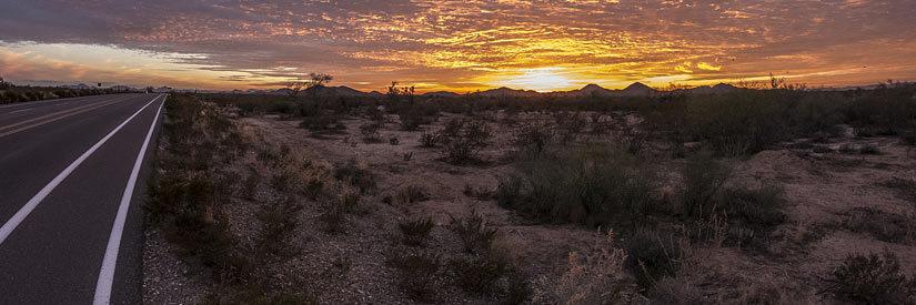 Phoenix Arizona Desert Road