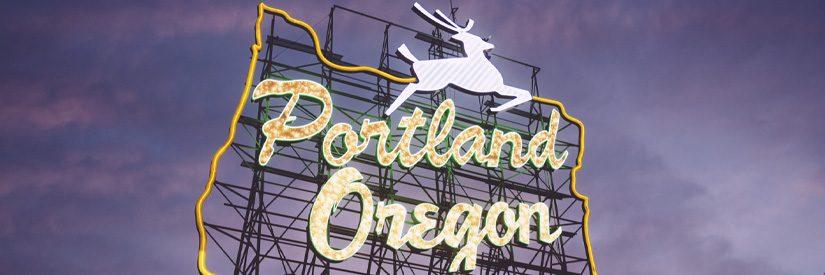 Portland Oregon Old Town Entrance